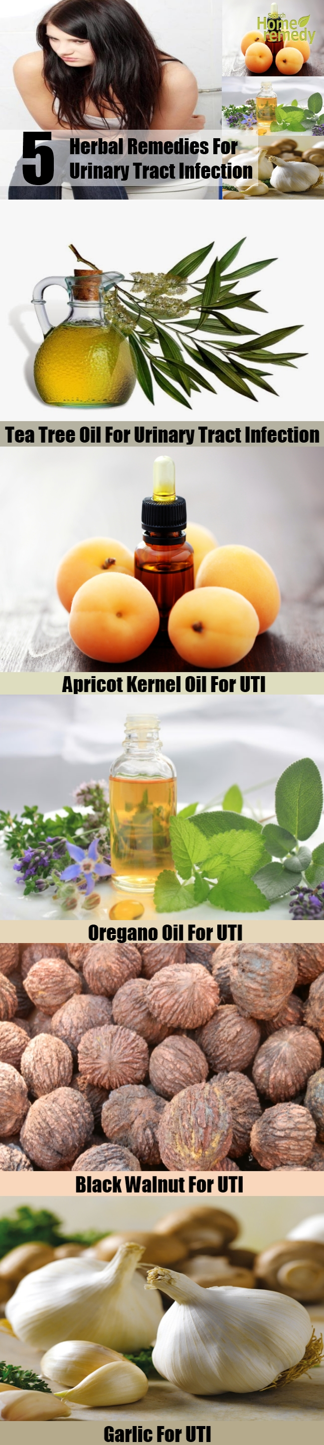 Top 5 Herbal Remedies For Urinary Tract Infection
