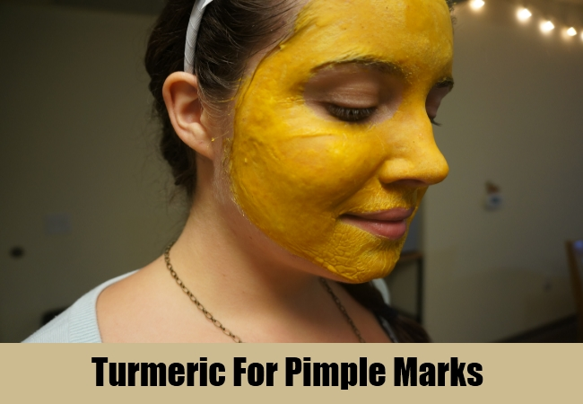 Turmeric For Pimple Marks