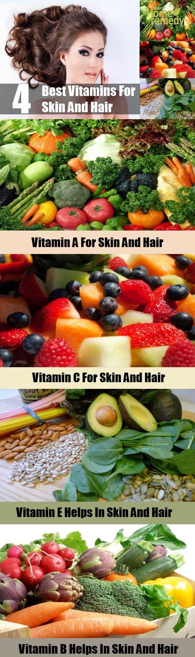 4 Best Vitamins For Skin And Hair