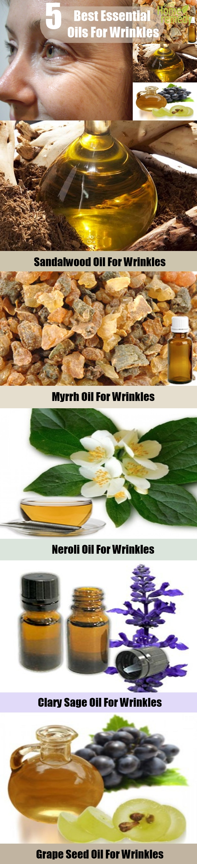 5 Best Essential Oils For Wrinkles