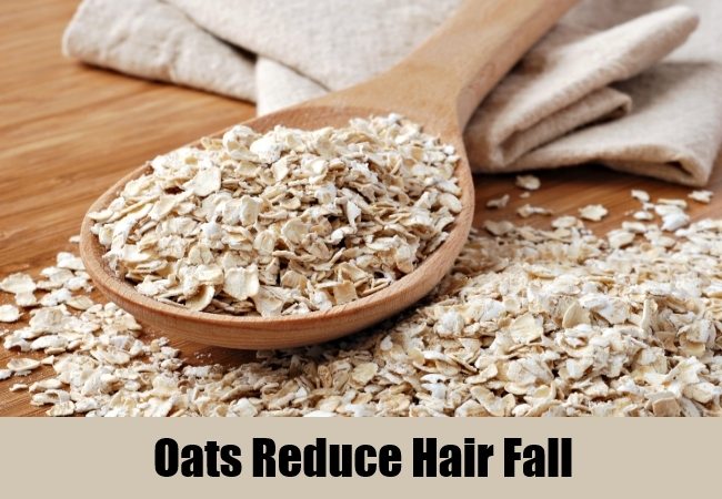 Oats Reduce Hair Fall