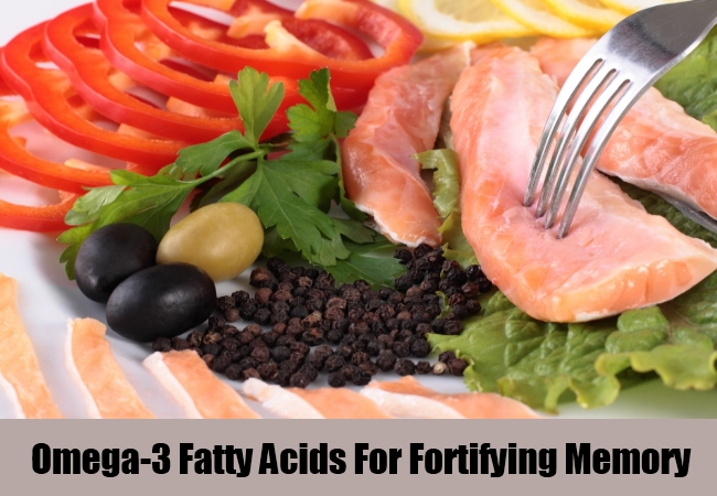 Omega-3 Fatty Acids For Fortifying Memory