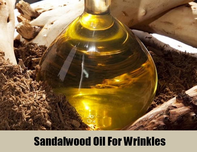 Sandalwood Oil For Wrinkles