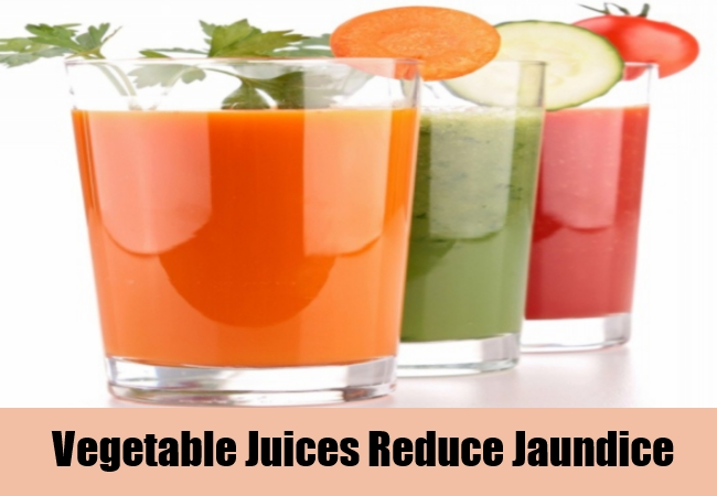 Vegetable Juices Reduce Jaundice