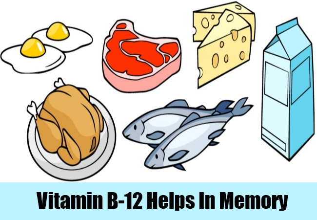 Vitamin B-12 Helps In Memory