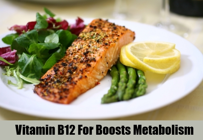 Vitamin B12 For Boosts Metabolism