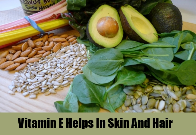 Vitamin E Helps In Skin And Hair