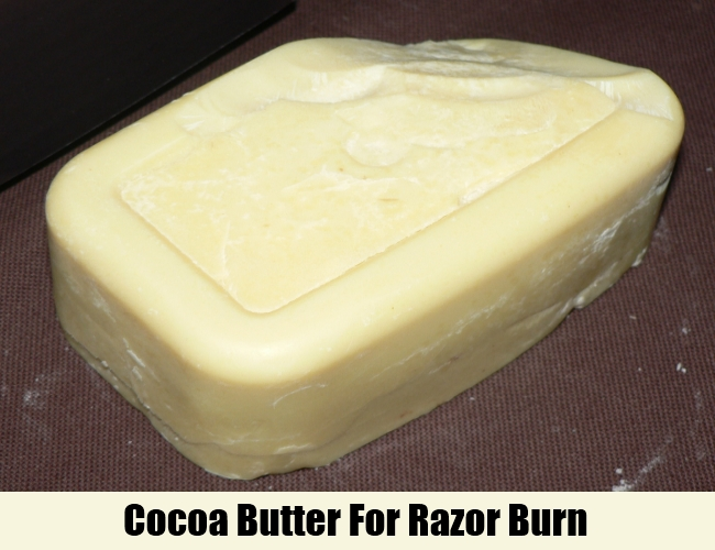 Cocoa Butter For Razor Burn