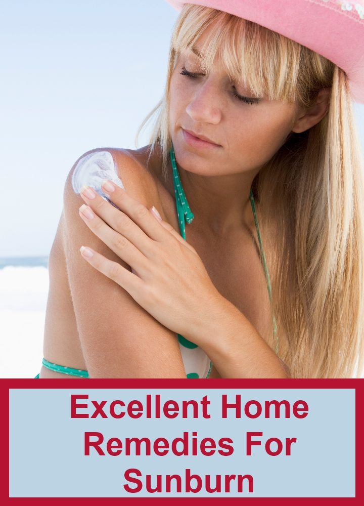 Excellent Home Remedies For Sunburn