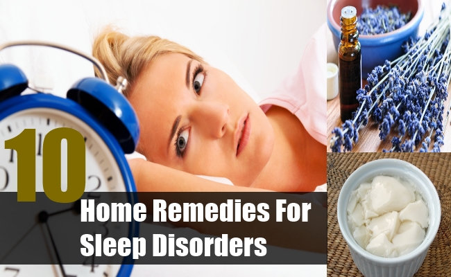 10 Effective Home Remedies For Sleep Disorders