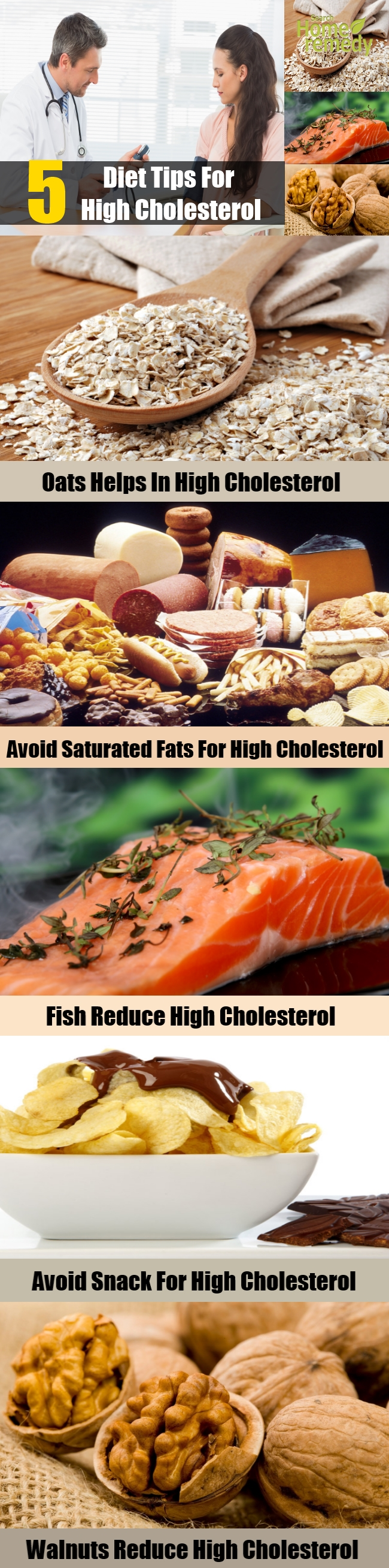5 Diet Tips For High Cholesterol