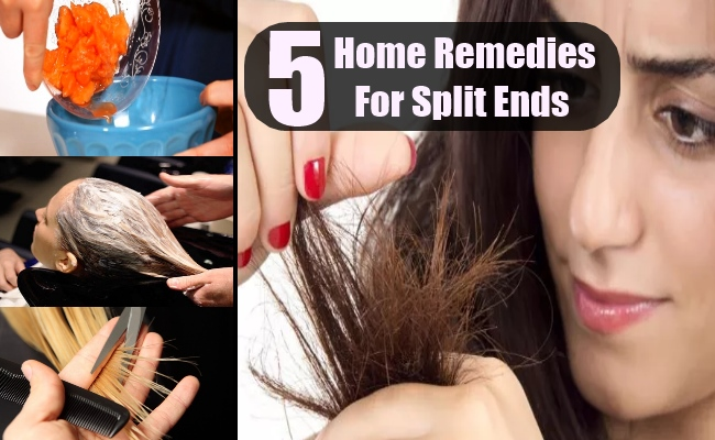 5 Easy Home Remedies For Split Ends