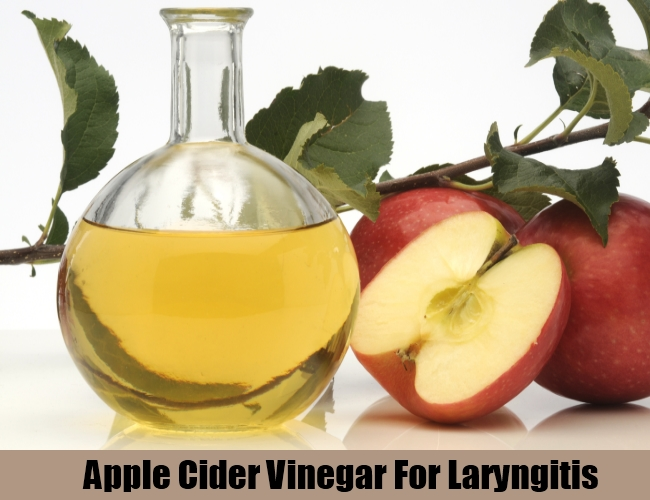 Apple Cider Vinegar For Laryngitis