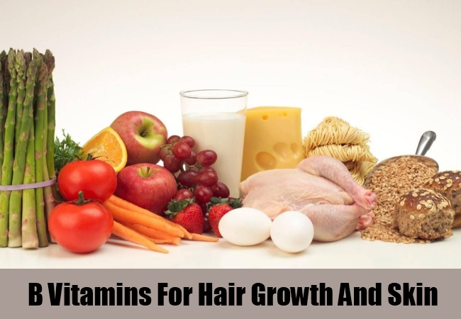 B Vitamins For Hair Growth And Skin