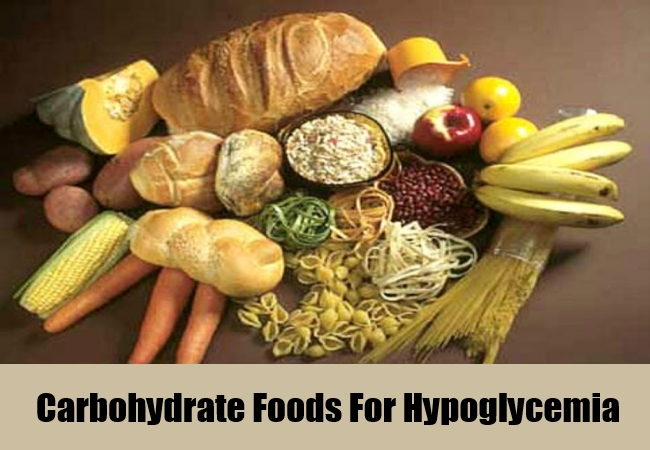 Carbohydrate Foods For Hypoglycemia