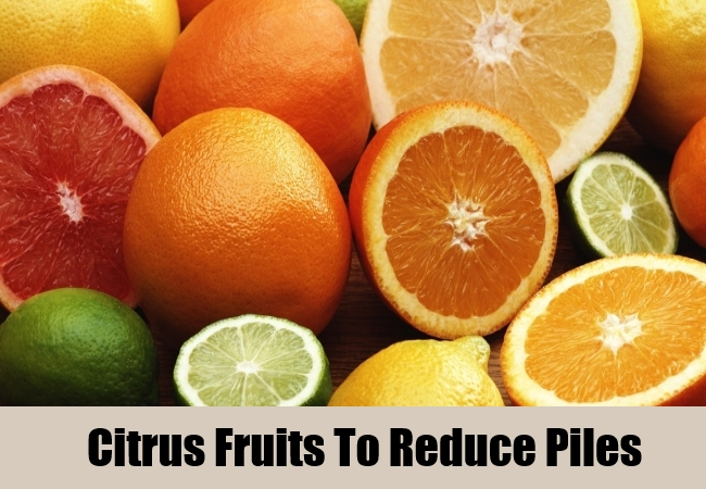 Citrus Fruits To Reduce Piles