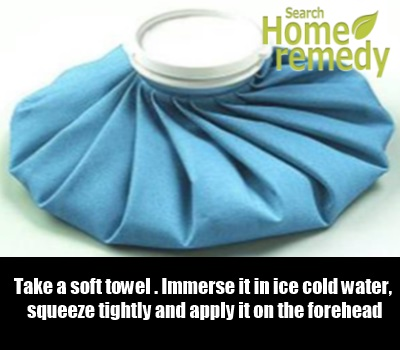 Cold Water Compress