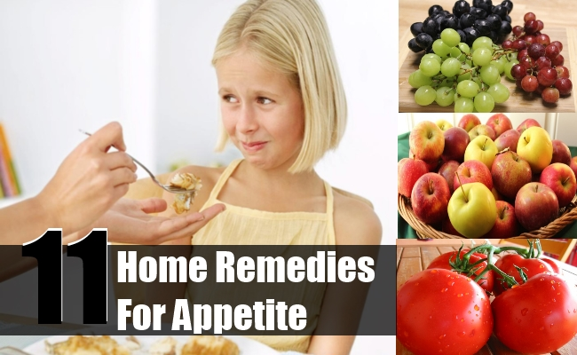 Home Remedies For Appetite