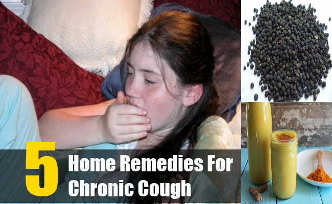 5 Effective Home Remedies For Chronic Cough