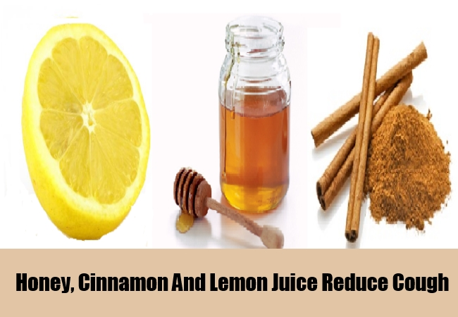 Honey, Cinnamon And Lemon Juice Reduce Cough