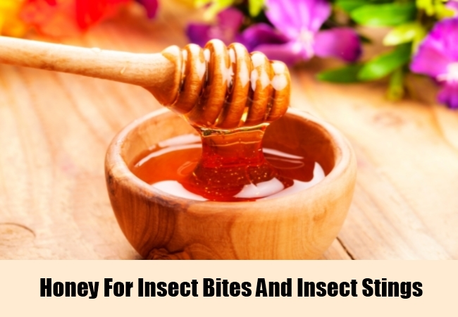 Honey For Insect Bites And Insect Stings