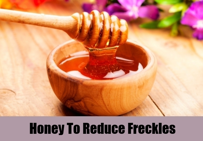 Honey To Reduce Freckles