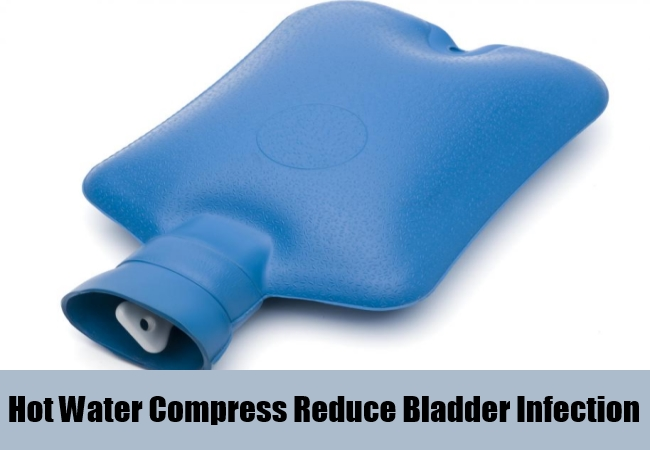 Hot Water Compress Reduce Bladder Infection