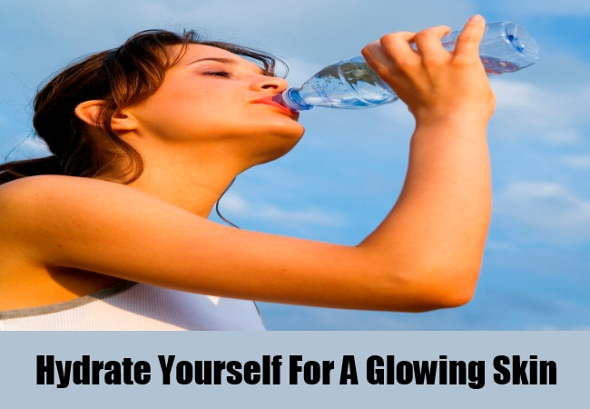 Hydrate Yourself For A Glowing Skin