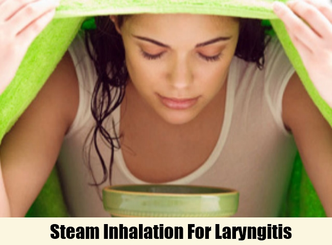 Steam Inhalation For Laryngitis