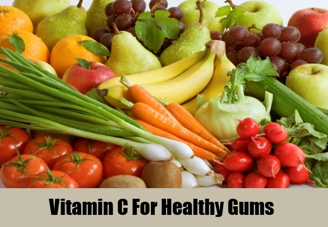 Vitamin C For Healthy Gums