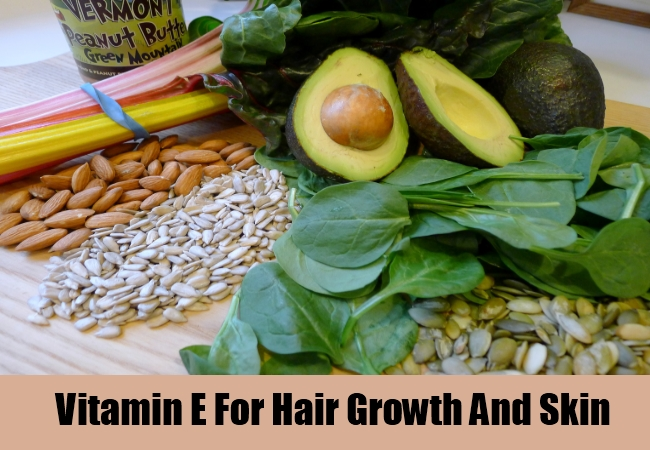 Vitamin E For Hair Growth And Skin