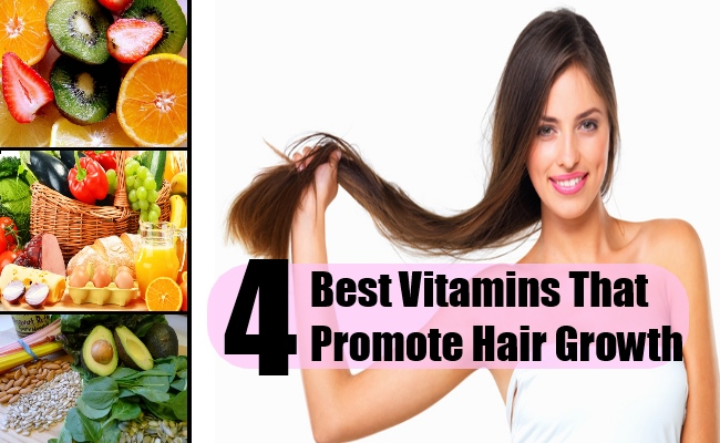 4 Best Vitamins That Promote Hair Growth