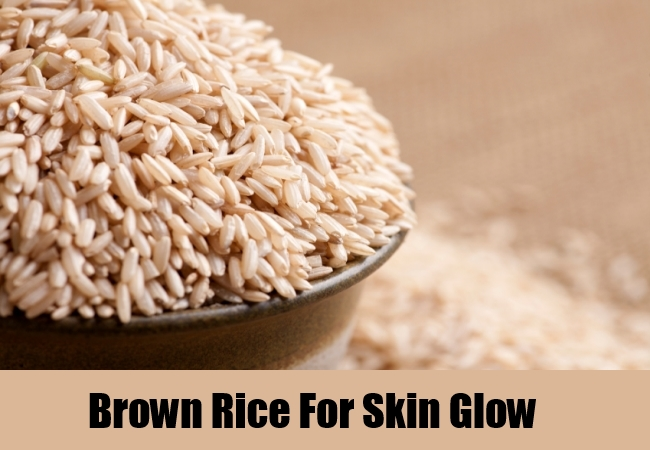Brown Rice For Skin Glow