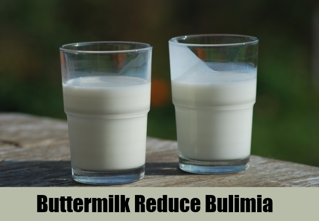 Buttermilk Reduce Bulimia
