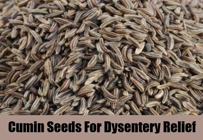 Cumin Seeds For Dysentery Relief