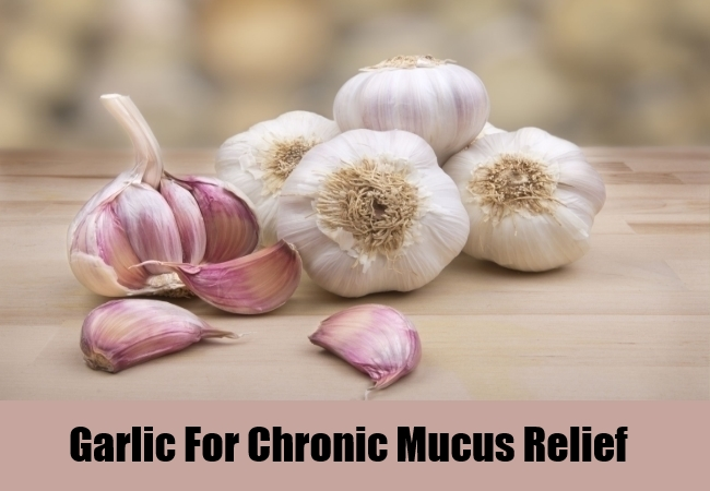 Garlic For Chronic Mucus Relief