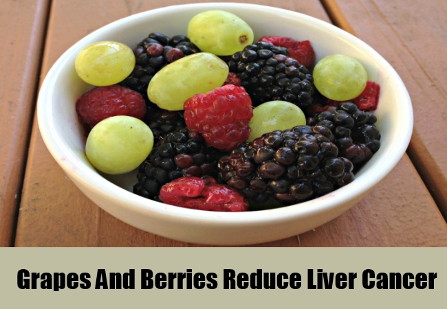 Grapes And Berries Reduce Liver Cancer