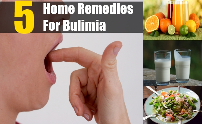 Home Remedies For Bulimia