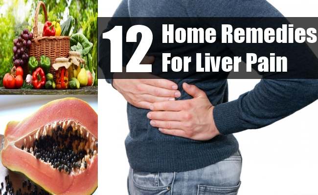 Home Remedies For Liver Pain