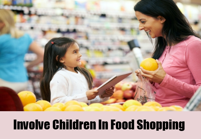 Involve Children In Food Shopping