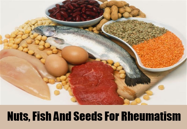 Nuts, Fish And Seeds For Rheumatism