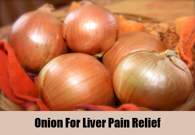 Onion For Liver Pain Relief