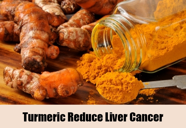 Turmeric Reduce Liver Cancer