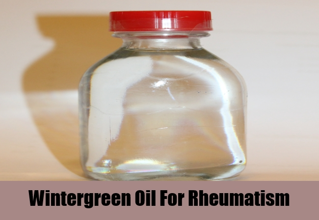 Wintergreen Oil For Rheumatism