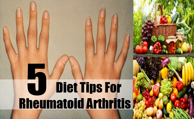 Diet Tips For Rheumatoid Arthritis