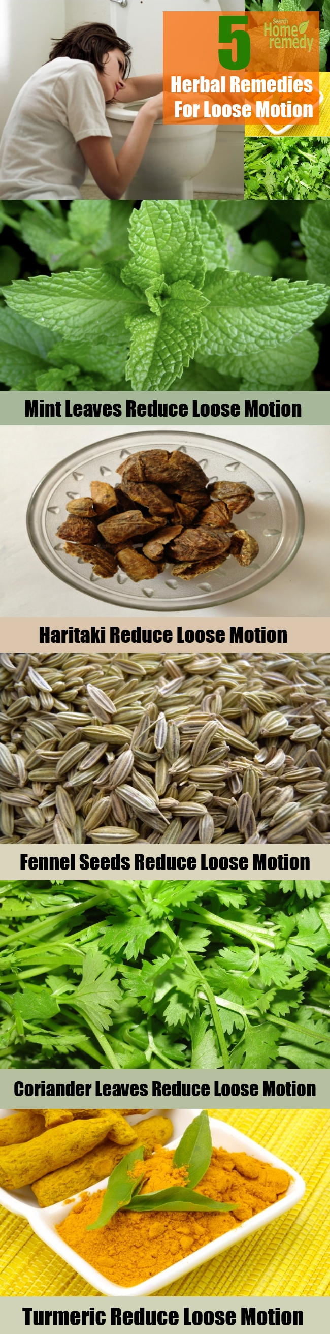 Effective 5 Herbal Remedies For Loose Motion