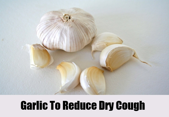 Garlic To Reduce Dry Cough