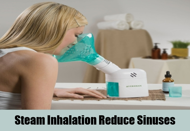 Steam Inhalation Reduce Sinuses