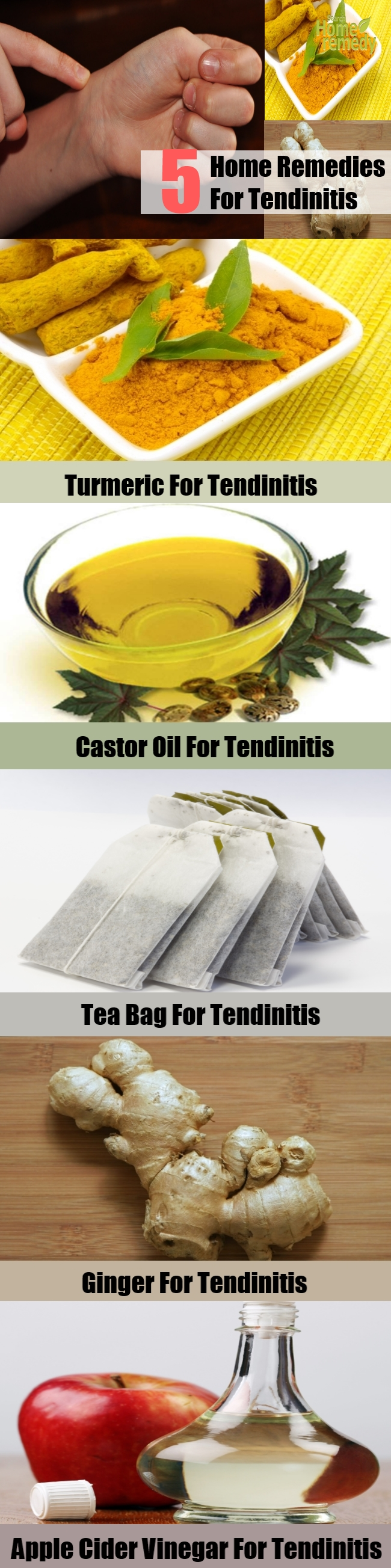 Top 5 Home Remedies For Tendinitis