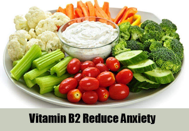Vitamin B2 Reduce Anxiety